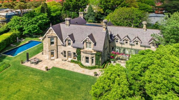 The Victorian Rustic Gothic mansion Rona has sold for only the third time since it was built in 1883. Photo: Supplied