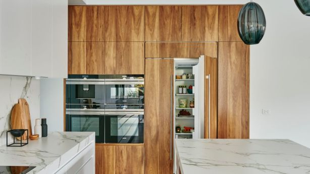 Refrigerators have now become sleeker and more refined to better fit with interior design. Photo: Nikole Ramsay