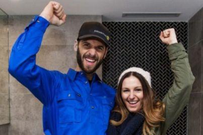 Bathroom week on The Block: first room reveals put teams in hot water