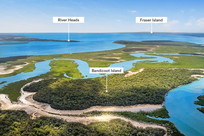 Bandicoot Island, Great Sandy Strait QLD 4655