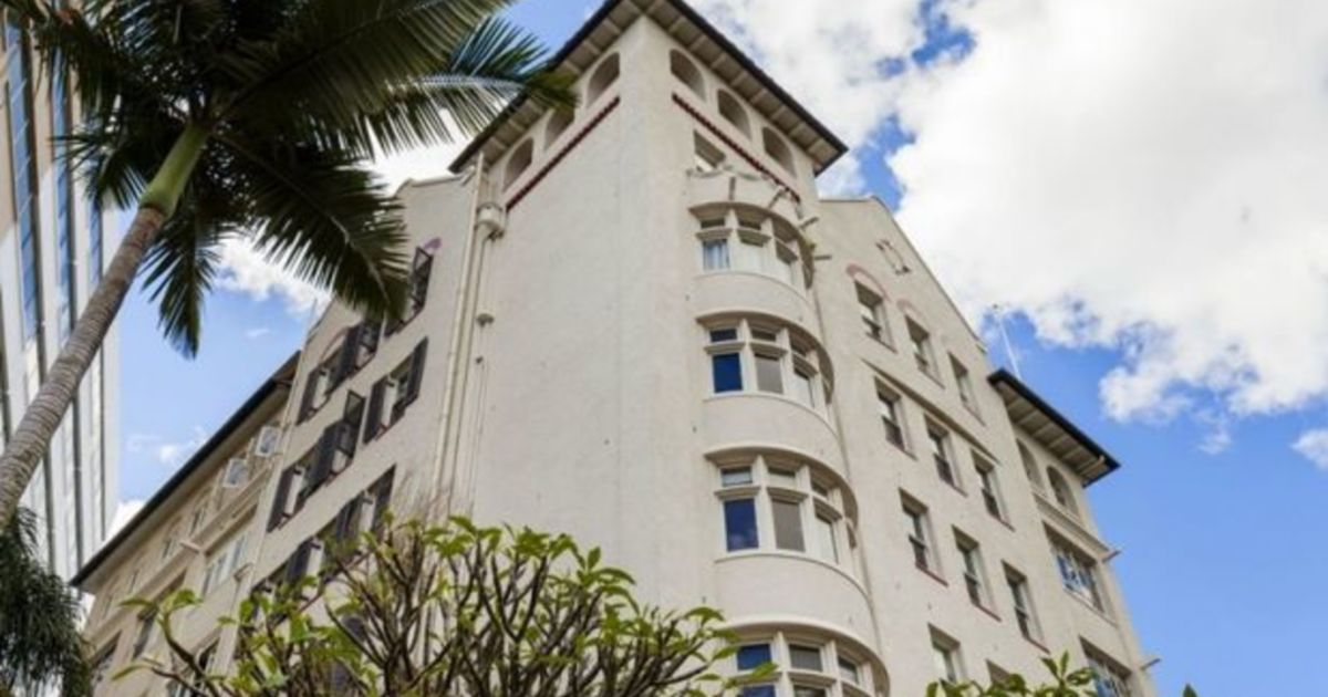 Historic Brisbane city apartment for sale