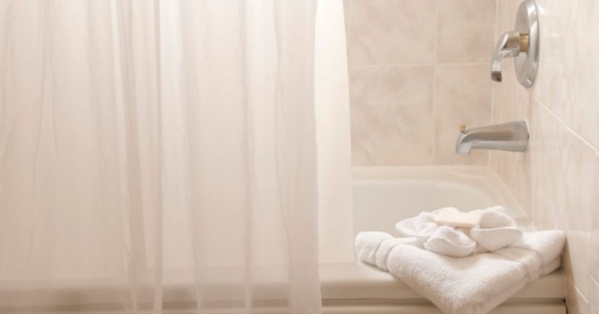 Why Your Shower Curtain Turns Pink