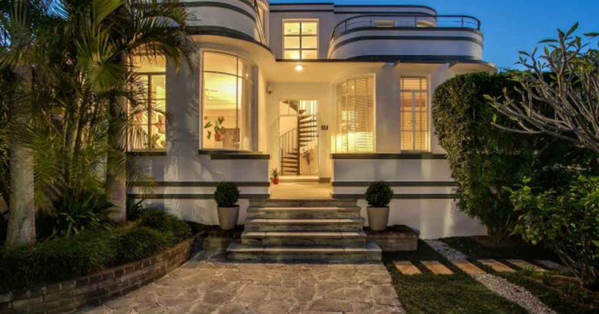 House Of The Week Rare Heritage Listed Art Deco Home In Balmain