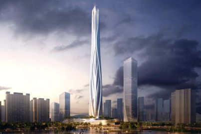 Architects unveiled for China's new tallest tower to be built in Shenzhen
