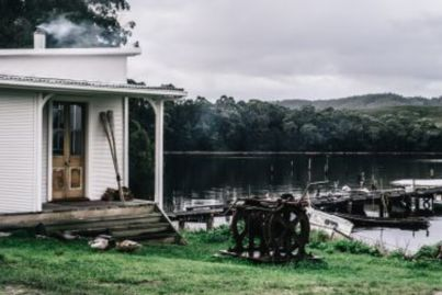 The incredible story behind one of Tasmania's most famous holiday rentals