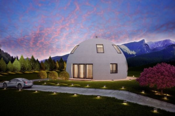 Russia's Skydome designs dome homes to withstand extreme ... on london bay homes, az homes, old brick homes,
