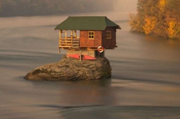 These isolated houses are perfect for introverts