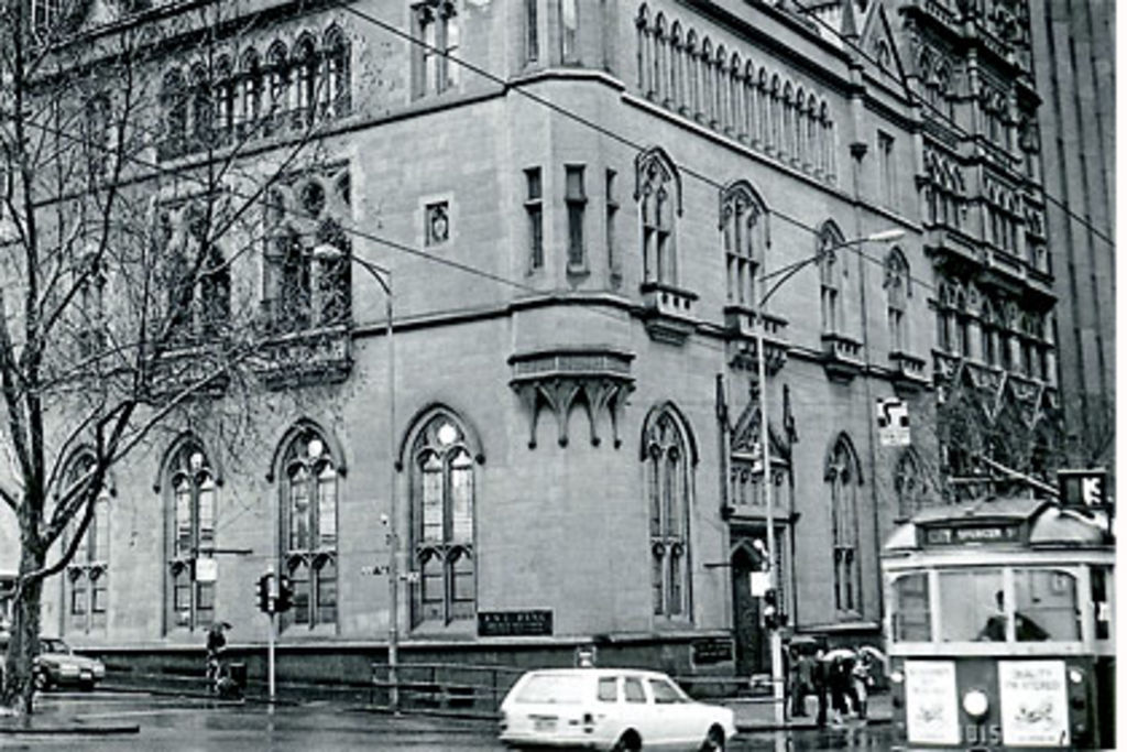 The former ES&A Bank (circa 1987), built in Melbourne's boom days. Photo: Katherine Griffiths