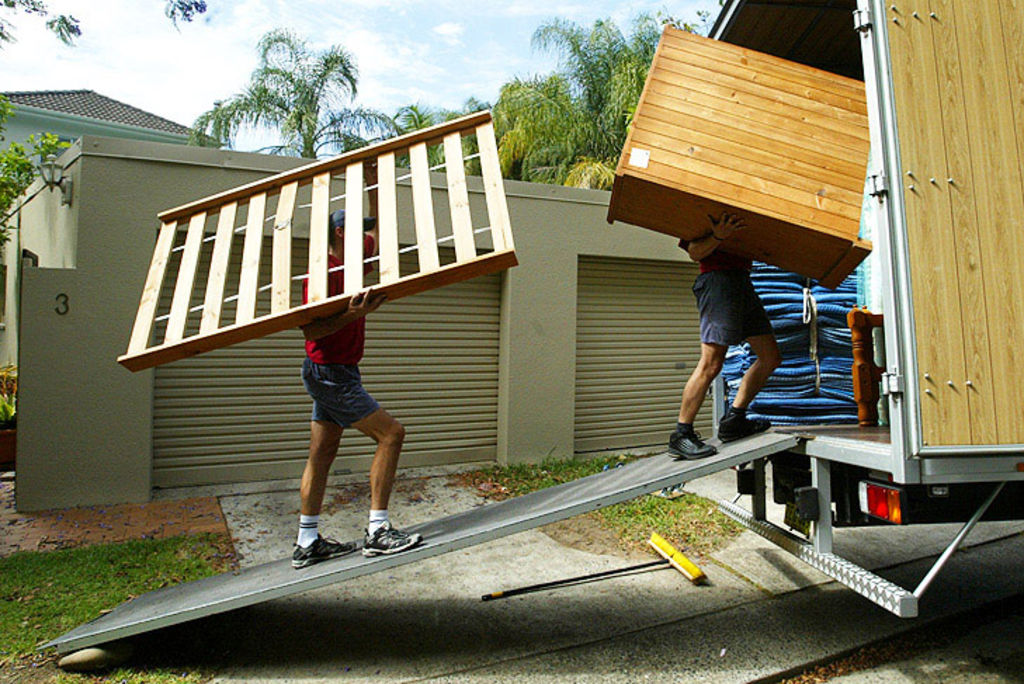 removalists Photo: Peter Morris Photo: Ray White New Farm