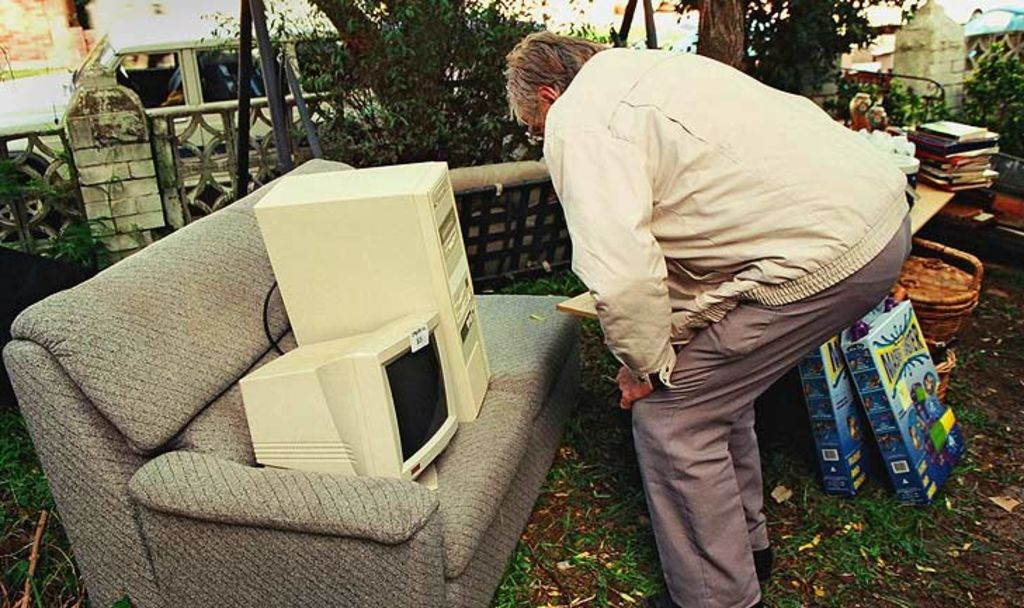 Old TV's and computer equipment can date quickly. Photo: Supplied
