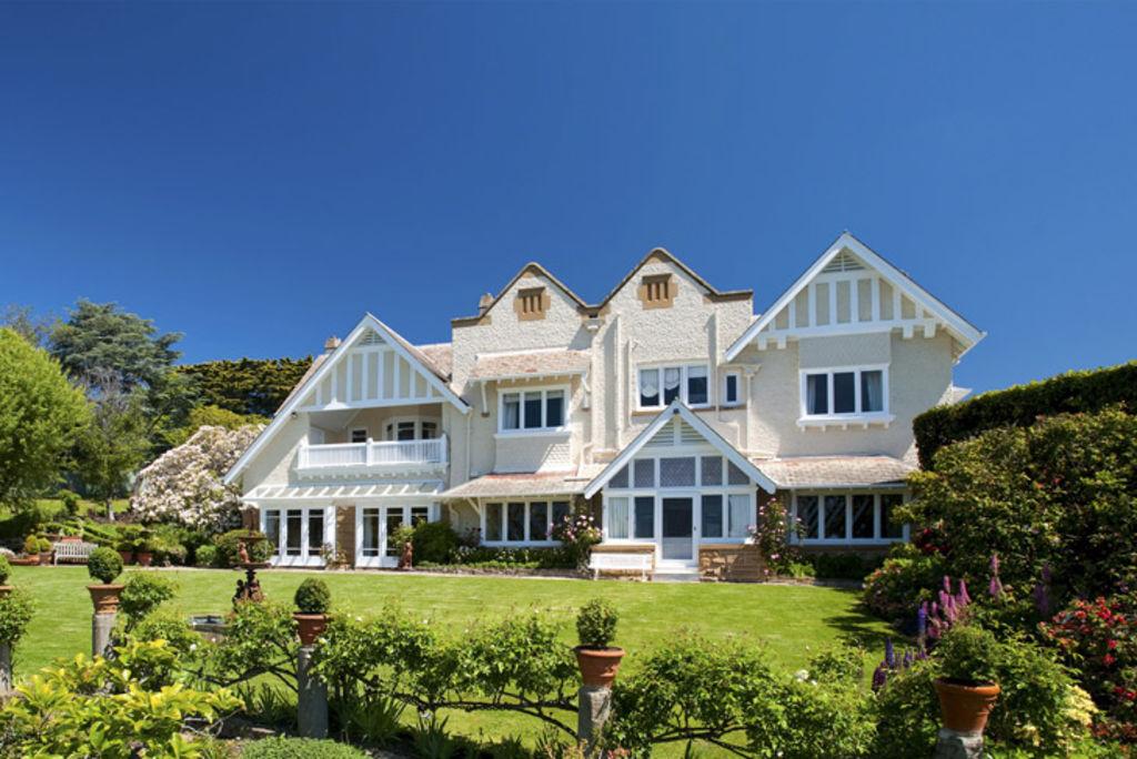 Benchmark ... Waimea House has twice broken Tasmania's residential record.