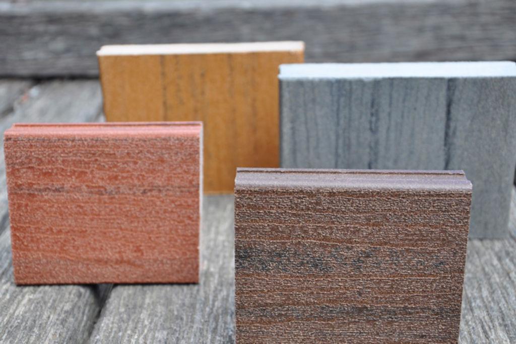 Composite timber blocks