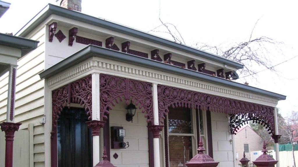 Ben Kingsley's property in Flemington, Melbourne.