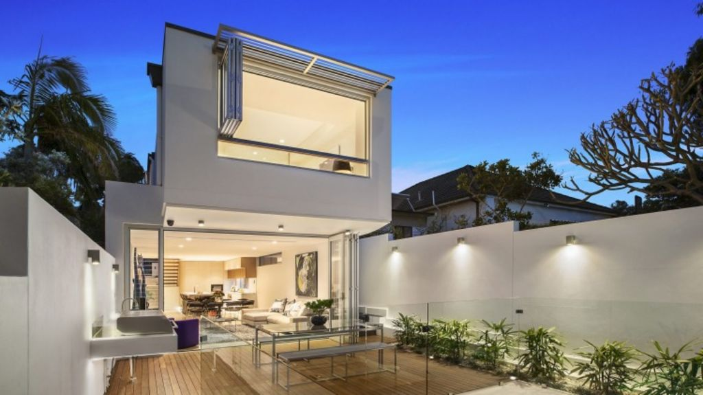 Sensational: Designed with flair, the property has two dwellings and space for all the family.