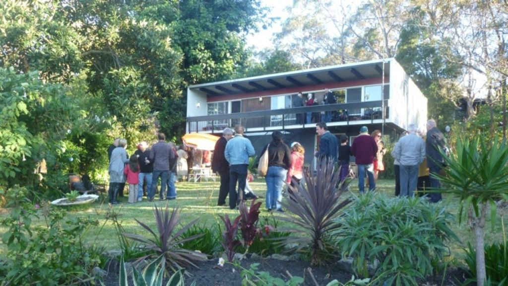 A party of Beachcomber enthusiasts at Faulconbridge.