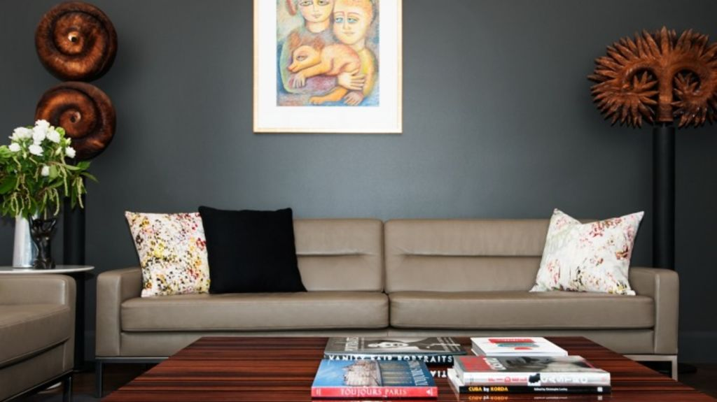A Melbourne penthouse project completed by The Stylesmiths Photo: The Stylesmiths