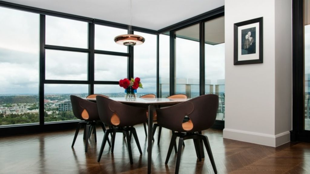 A Melbourne penthouse project completed by interior design service The Stylesmiths Photo: The Stylesmiths