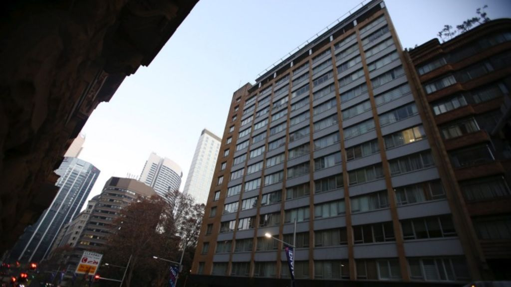 Short-term holiday letting has been banned in the the Bridgeport building near Macquarie Street. Photo: Nick Moir