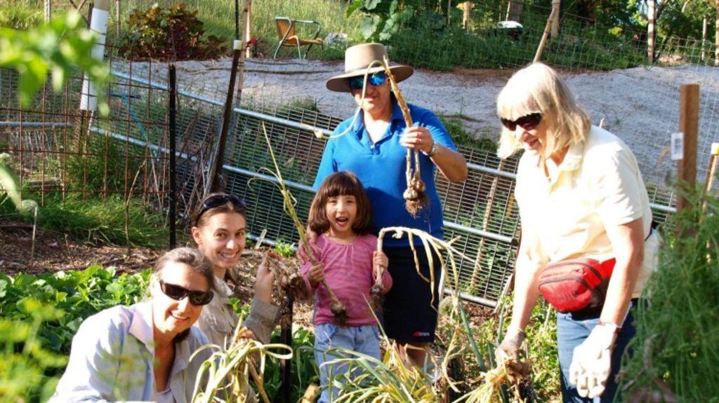 Illabunda members gardening. Photo: Supplied