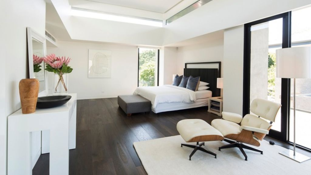 A neutral white was used by The Real Estate Stylist to provide a contemporary look in this modern home. Photo: Kit Haselden