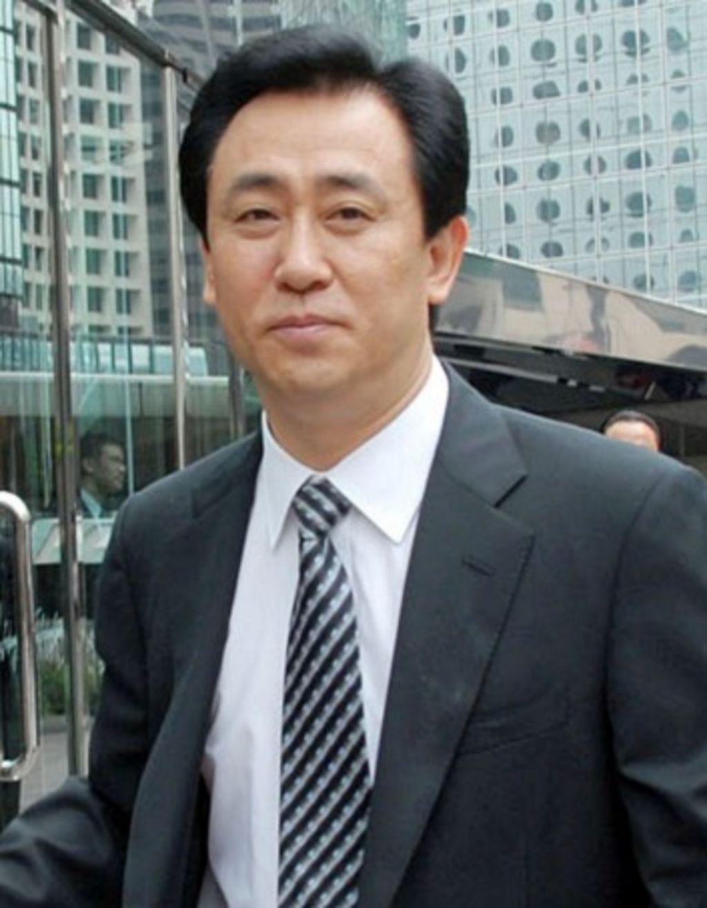 Chinese billionaire Xu Jiayin, chairman of Guangzhou Evergrande Group. Photo: ChinaFotoPress