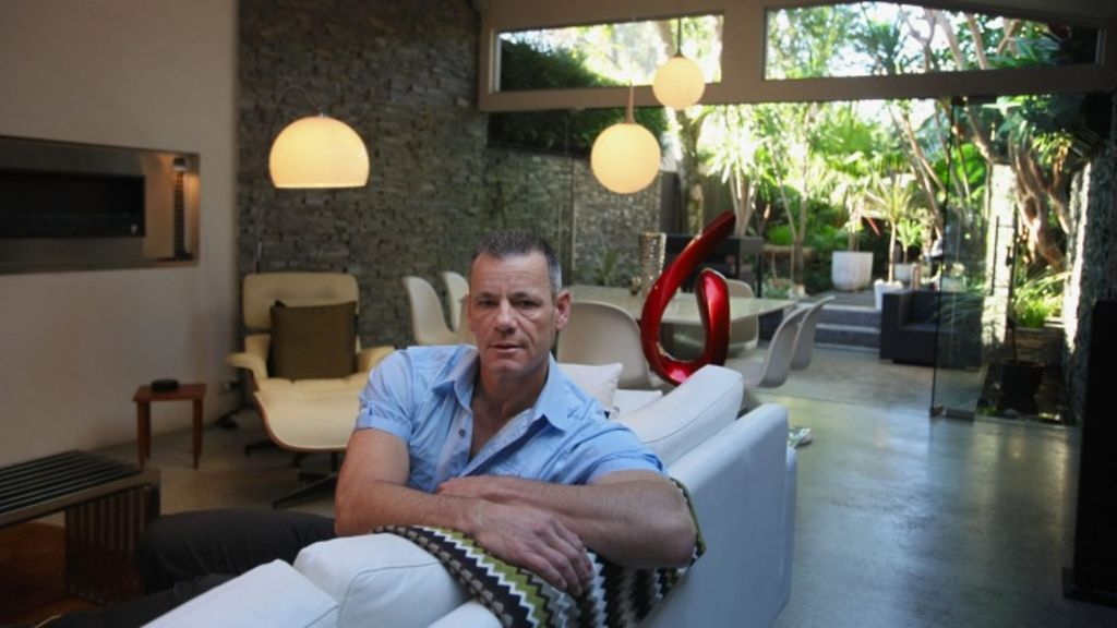 Wally Salinger is facing a $1.1 million fine for renting his house on Airbnb. Photo: Fiona Morris