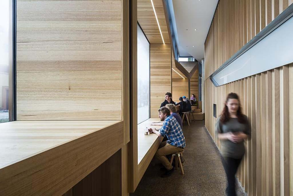 Jeffrey Smart Building at the University of South Australia in Adelaide, by John Wardle Architects in association with Phillips/Pilkington Architects.