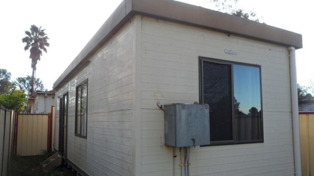 The cheapest granny flat on the market for rent is in Cambridge Park, for $190 per week. Photo: Supplied