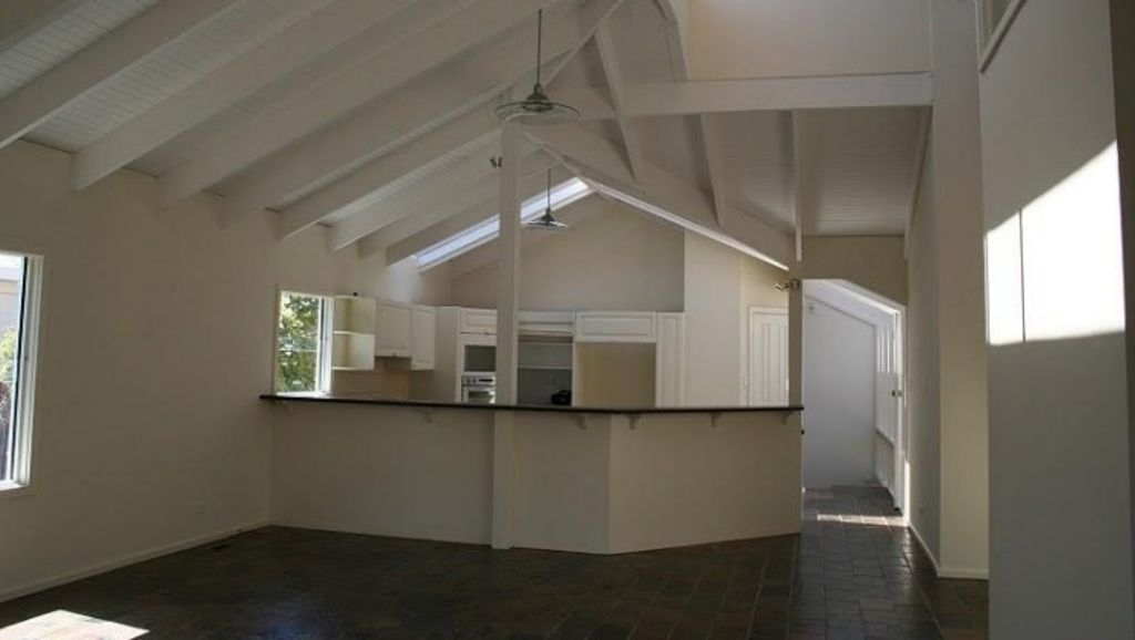 Tom Hall's renovations saw this Hampton kitchen go from this... Photo: Supplied