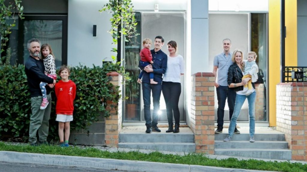 Helping hand: a joint residential venture might be the key to the door like it was for member of the Property Collective. Photo: Wayne Taylor
