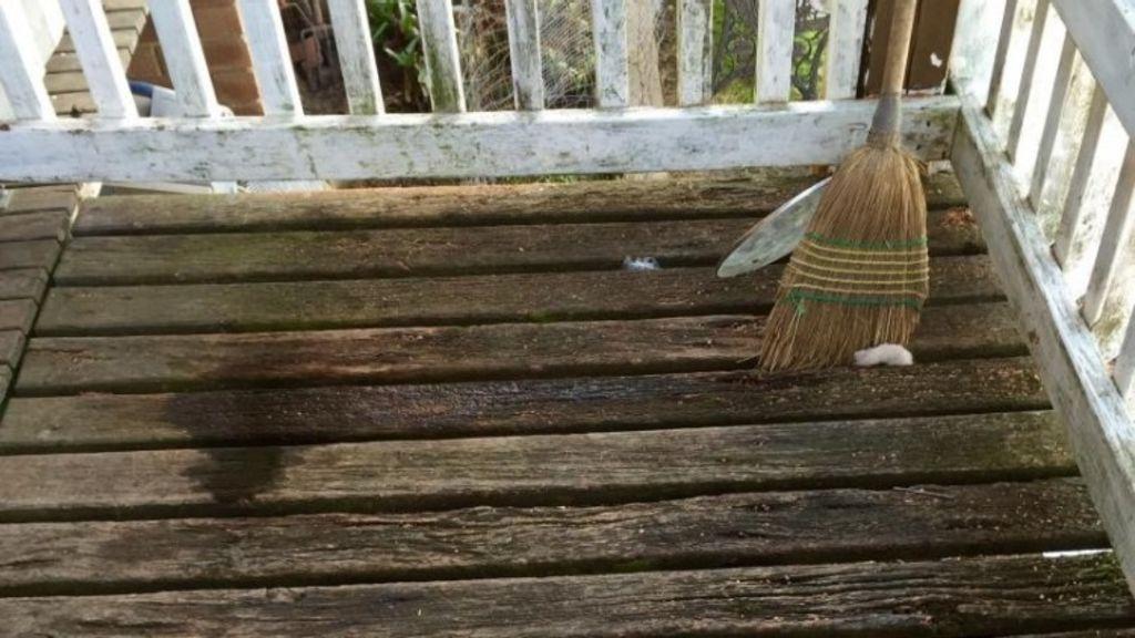 Rotting wood puts renters at risk.