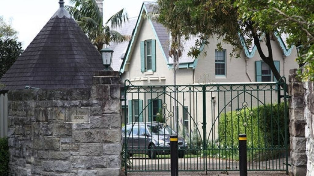 Too good to be true: Kirribilli House has been listed on the accommodation website Stayz. Photo: Stayz.com.au