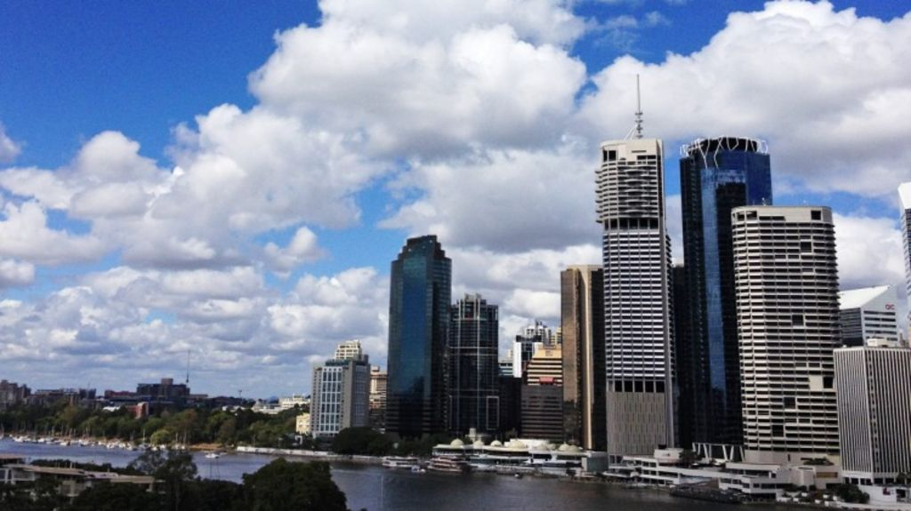 The sky is looking sunny for Brisbane first home buyers, as rents remain unchanged over the year. Photo: Glenn Hunt
