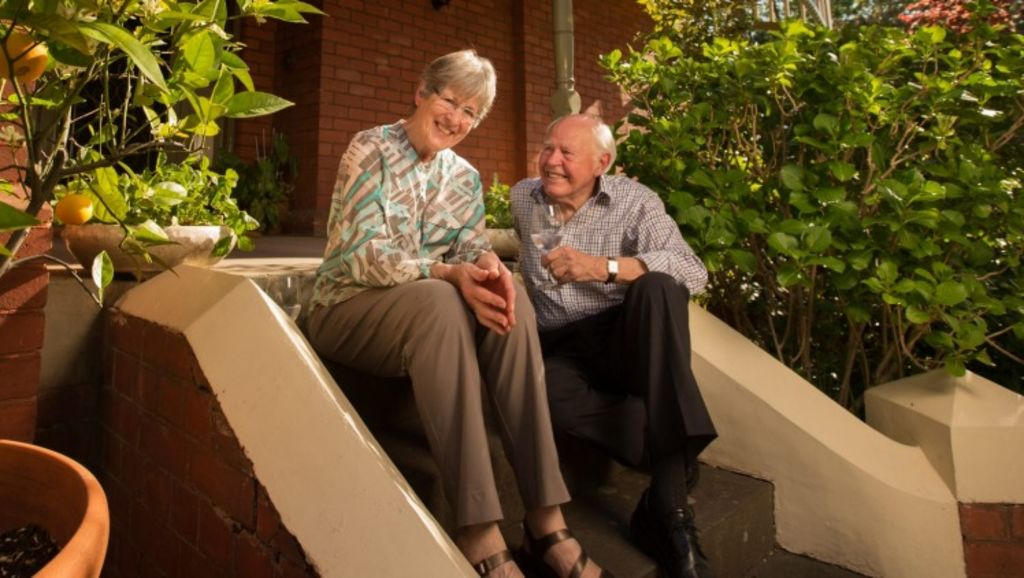 Ian Phillips, 78, and wife Ann are selling their Canterbury home. The home has been in Ian's family for 94 years. Photo: Simon Schluter