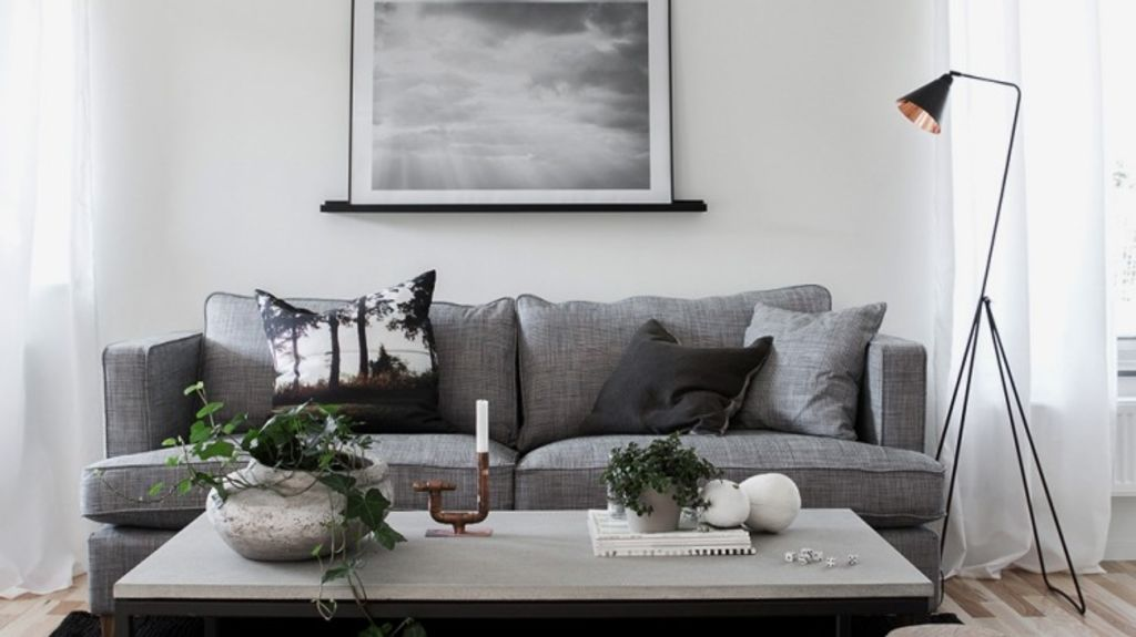 Thou shall rest and relax: The many different ways we use the living room presents us with a range of decorating options. Photo: Helt Enkelt