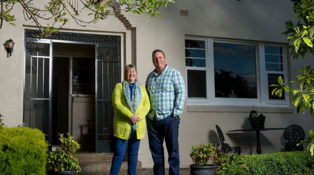 Ken and Denise Cooper in their Mont Albert home. Photo: Jesse Marlow