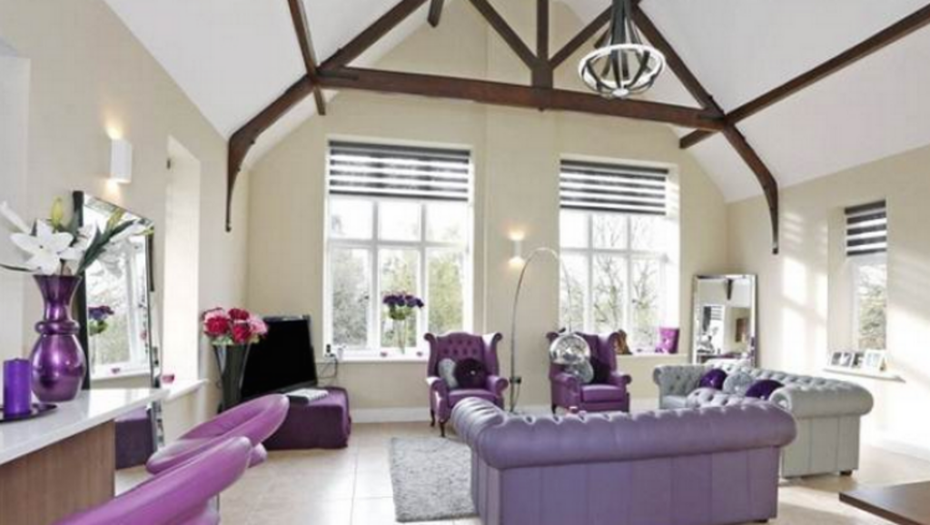 This penthouse is one of the apartments currently on the market. Photo: Savills