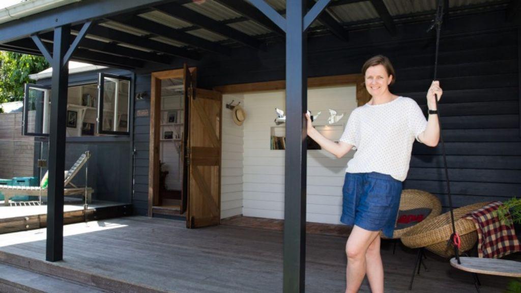 Vendor Penelope Roberts at her home in Randwick.