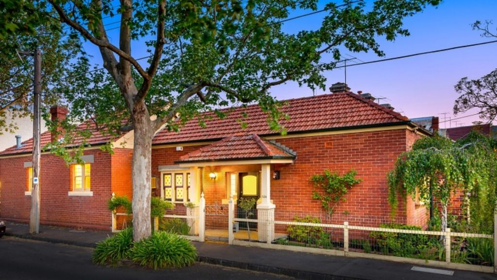 Edwardian beauty, 534 Rae Street, Fitzroy North, sold for an undisclosed sum after auction. Photo: Supplied