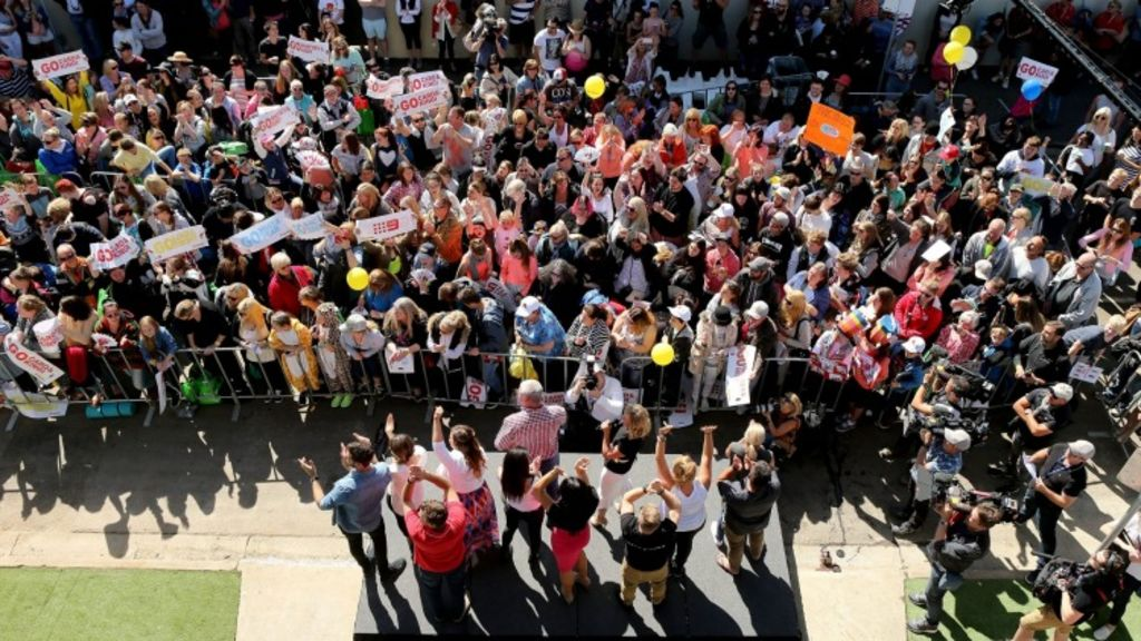The Block contestants meet their fans. Photo: Pat Scala