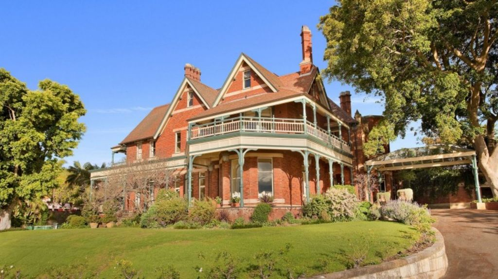 The Federation house was sold by New Zealand businessman Ken Allen. Photo: Supplied
