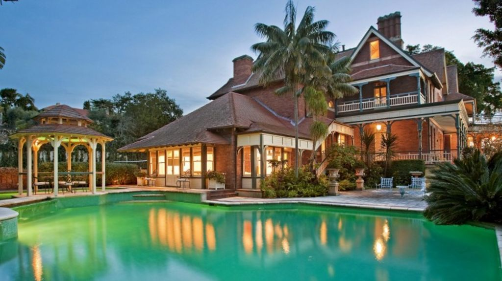 The Bellevue Hill heritage mansion Leura has sold for more than $30 million. Photo: Supplied