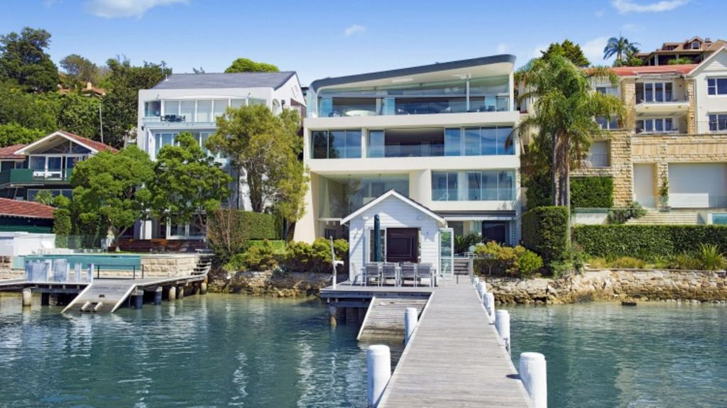 Dick Enthoven's purchase at Wunulla Road, Point Piper. Photo: Supplied