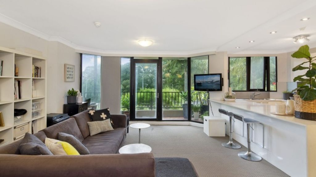 This unit at 3D/153 Bayswater Road, Rushcutters Bay, offers a gross rental yield of 4.8 per cent. Photo: Supplied