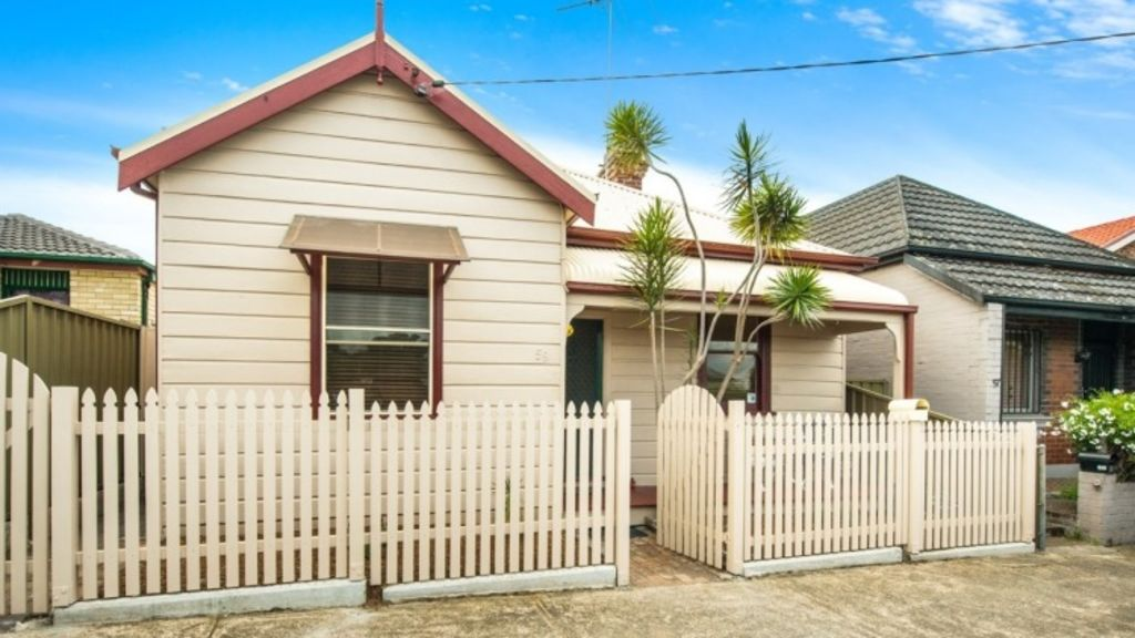 Character distinguishes this weatherboard at 59 Hart Street, Tempe. Photo: Supplied