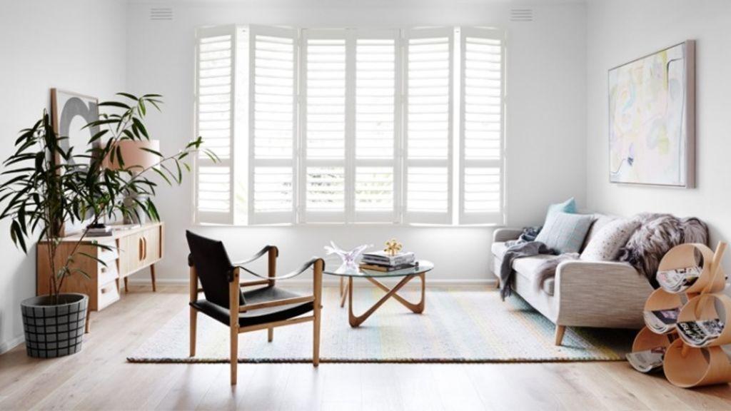 Choosing furniture on legs creates a feeling of space. Photo: Annette O'Brien