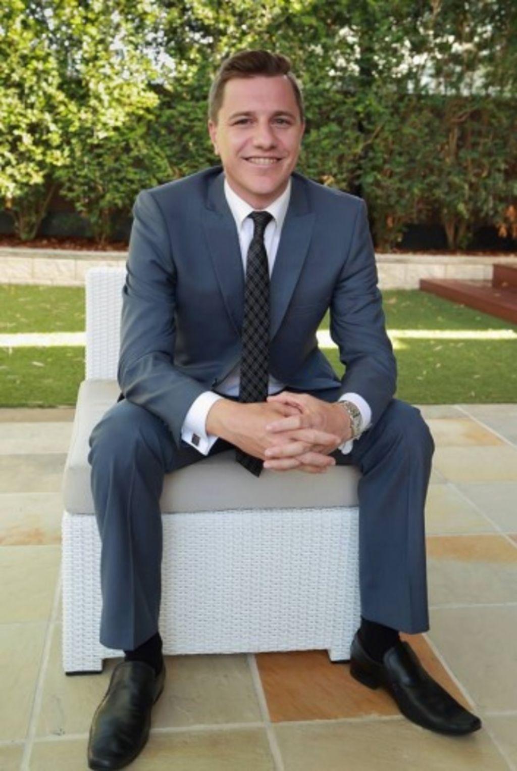 Agent Evan Molloy posts his real estate videos to his Facebook page: Evan Molloy Team. Photo: Supplied