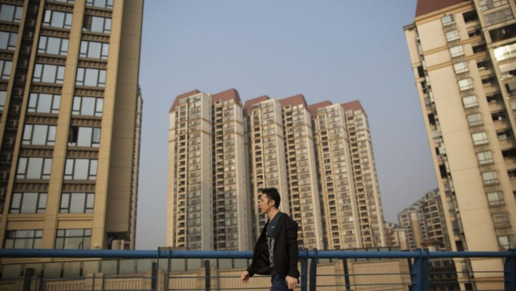China will seek to fill its empty buildings as part of its 2016 economic master plan. Photo: Brent Lewin