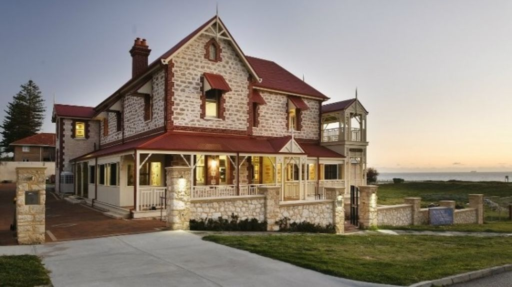 The historic Tukurua mansion which may house Syrian refugees. Photo: Supplied