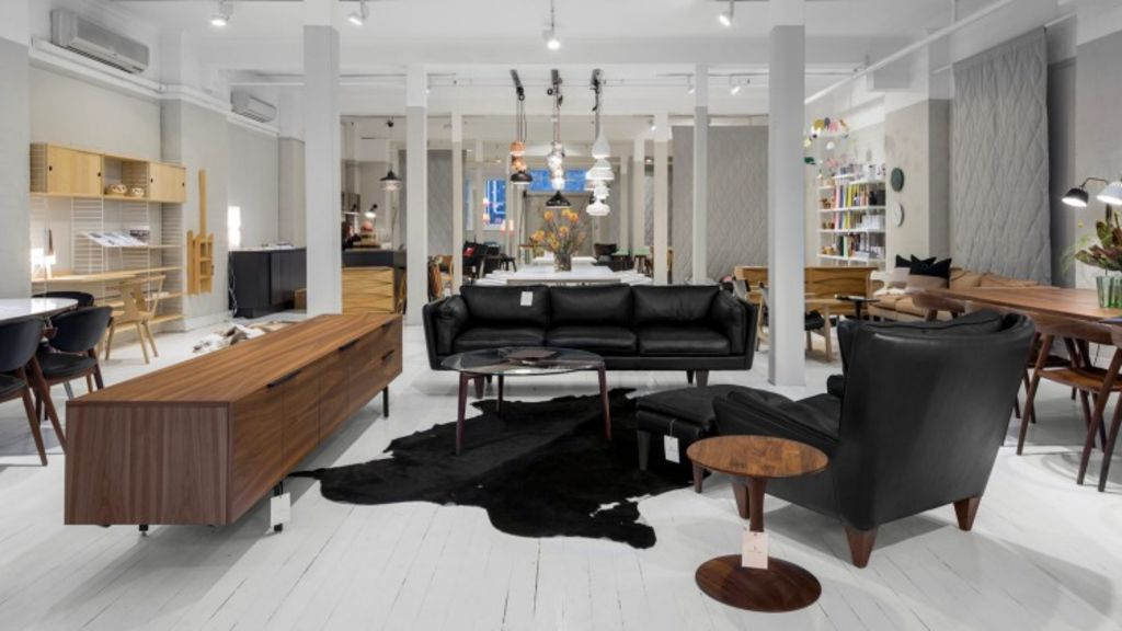 Great Dane furniture store in Sydney and Melbourne stocks some of the premier brands in Scandinavian furniture. Photo: Steve Back